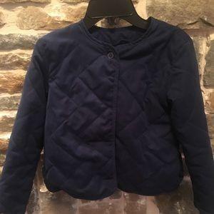BOGO* Girls light weight quilted jacket. GUC